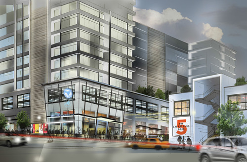 Rendering of the future Angelika Film Center at Union Market.  (PRNewsFoto/EDENS)