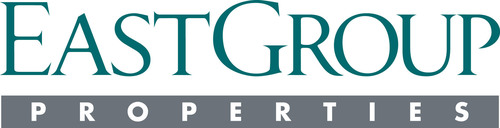 EastGroup Properties, Inc. logo. (PRNewsFoto/EAST GROUP PROPERTIES, INC.) (PRNewsFoto/) (PRNewsFoto/)