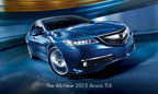 Acura Launches All-New 2015 TLX Performance Luxury Sedan With Biggest Marketing Campaign in Brand History (PRNewsFoto/Acura)