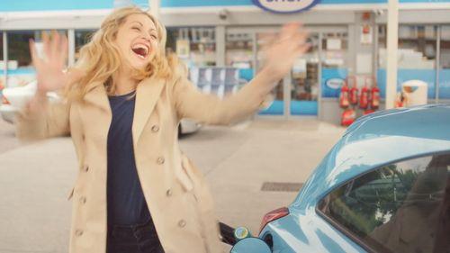 Hitting a round number at the petrol pump, The #LittleThings, Freixenet UK. (PRNewsFoto/Freixenet UK)