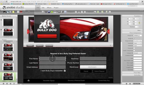 Bully Dog Technologies selects Yooba's iPad Publishing Platform for its Trade Show Kiosks