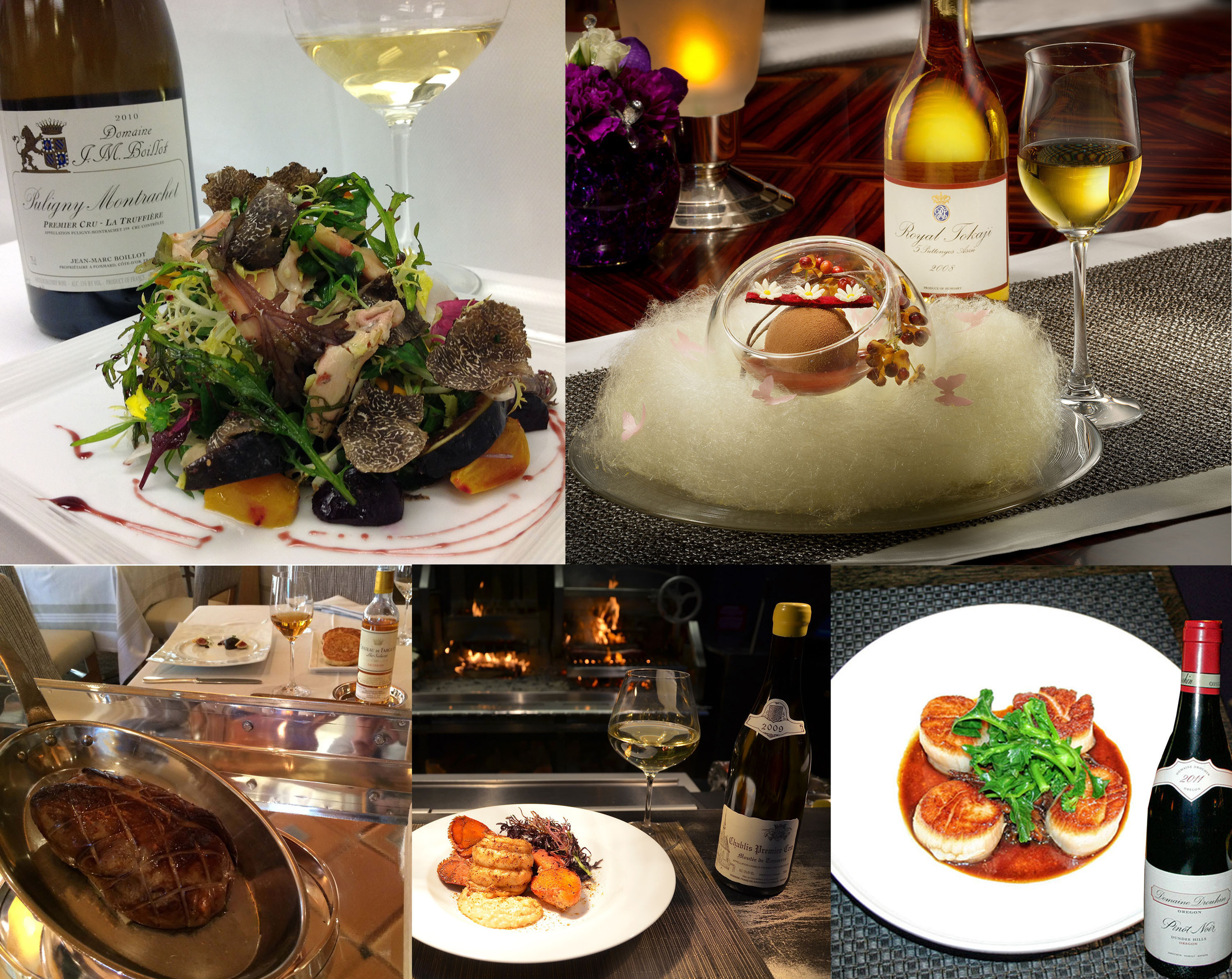 Romantic food and wine pairings (http://bit.ly/1g7LONM) recommended by Las Vegas' talented sommeliers, perfect for Valentine's Day.  (PRNewsFoto/MGM Resorts International)
