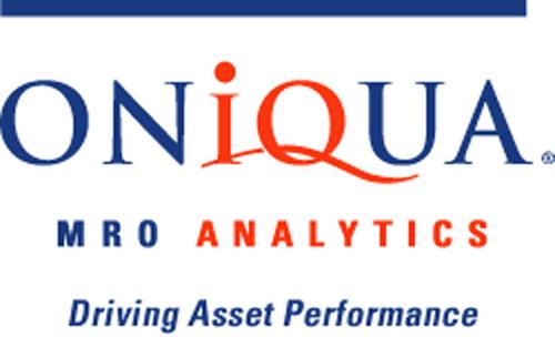 Oniqua logo. (PRNewsFoto/Oniqua MRO Analytics) (PRNewsFoto/ONIQUA MRO ANALYTICS)