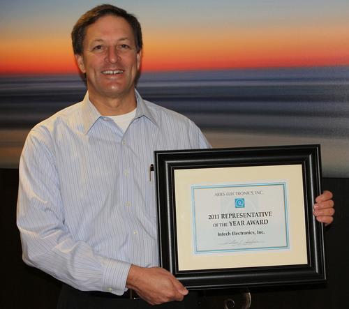 Aries Electronics Names Intech Electronics 2011 Representative of the Year
