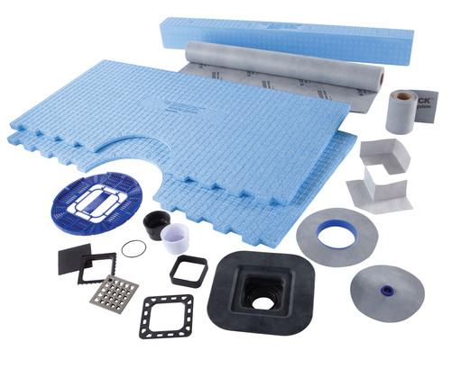 USG Introduces Easy-to-Install Waterproofing System for Tiled Showers