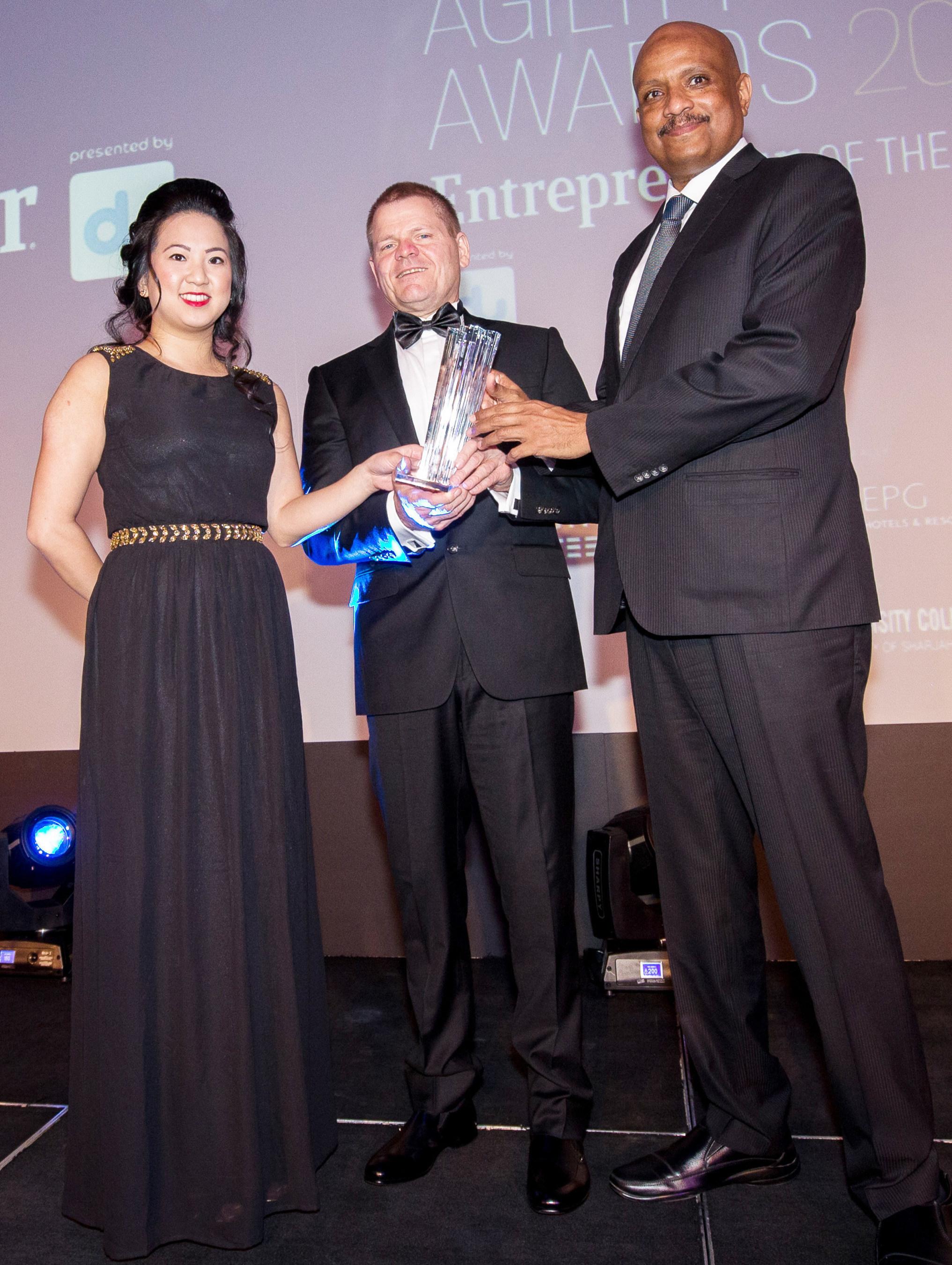 ONEm wins award for Technology Innovation from Entrepreneur Magazine