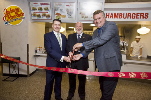 Johnny Rockets Goes to School with First Two College Campus Restaurants