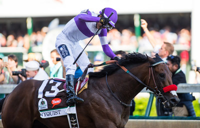 Breathe Right(R) Nasal Strips Partners With Favored Preakness(R) Contender Nyquist