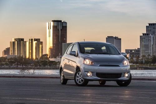 2015 Mirage ES (PRNewsFoto/Mitsubishi Motor Sales - America)