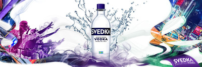 SVEDKA Vodka Charges Into Summer 2013 With Bold Campaign.  (PRNewsFoto/SVEDKA Vodka)