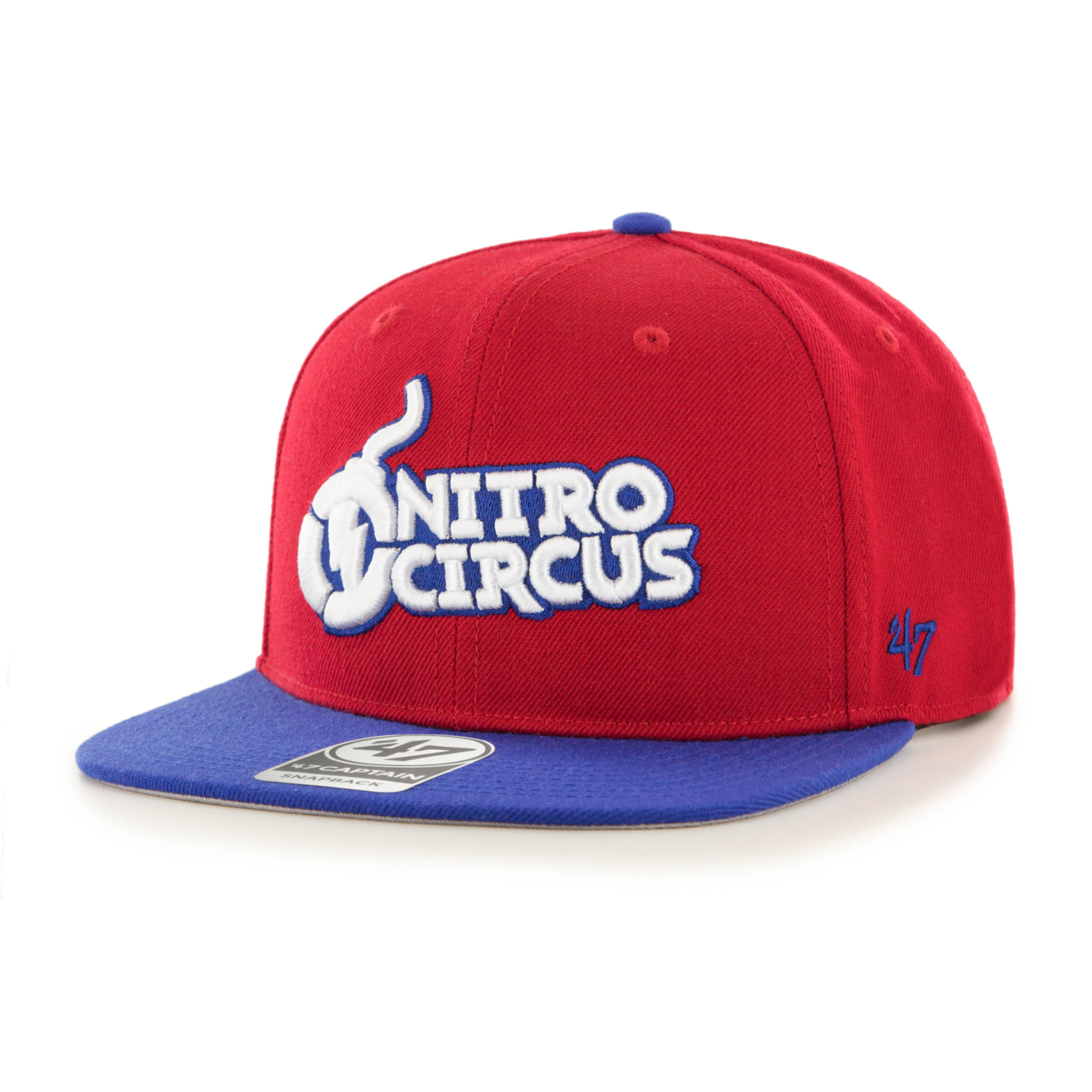 Nitro Circus headwear produced by iconic sports lifestyle brand, '47