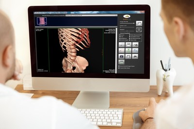 Medical professionals reviewing images received through Nautilus Medical's MatrixRay. Used by 32 of top 50 medical centers in the US. Nautilus software is used by Cleveland Clinic, Northwestern, University of Pittsburgh Medical Center, University of Pennsylvania, Harvard, Cornell, Columbia, NY Presbyterian, Cedars-Sinai and more than a 1000 locations.