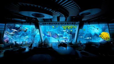 Royal Caribbean International's new ship will take 'entertainment' to a new level with a stellar line up of acts, shows and ground breaking technology, the likes of which haven't been seen under one roof, ever before, anywhere in the world. The line-up provides a heady concoction of firsts including Roboscreens and digital shows projected onto 100 feet wide windows over 20 feet high. Designed entirely with their new international holiday makers in mind, the world's most innovative holiday company has today revealed its on-board entertainment programme for its latest new ship, Quantum of the Seas.