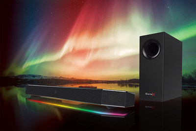 Sound BlasterX Katana: Hi-Res 24-bit Under-Monitor Audio System