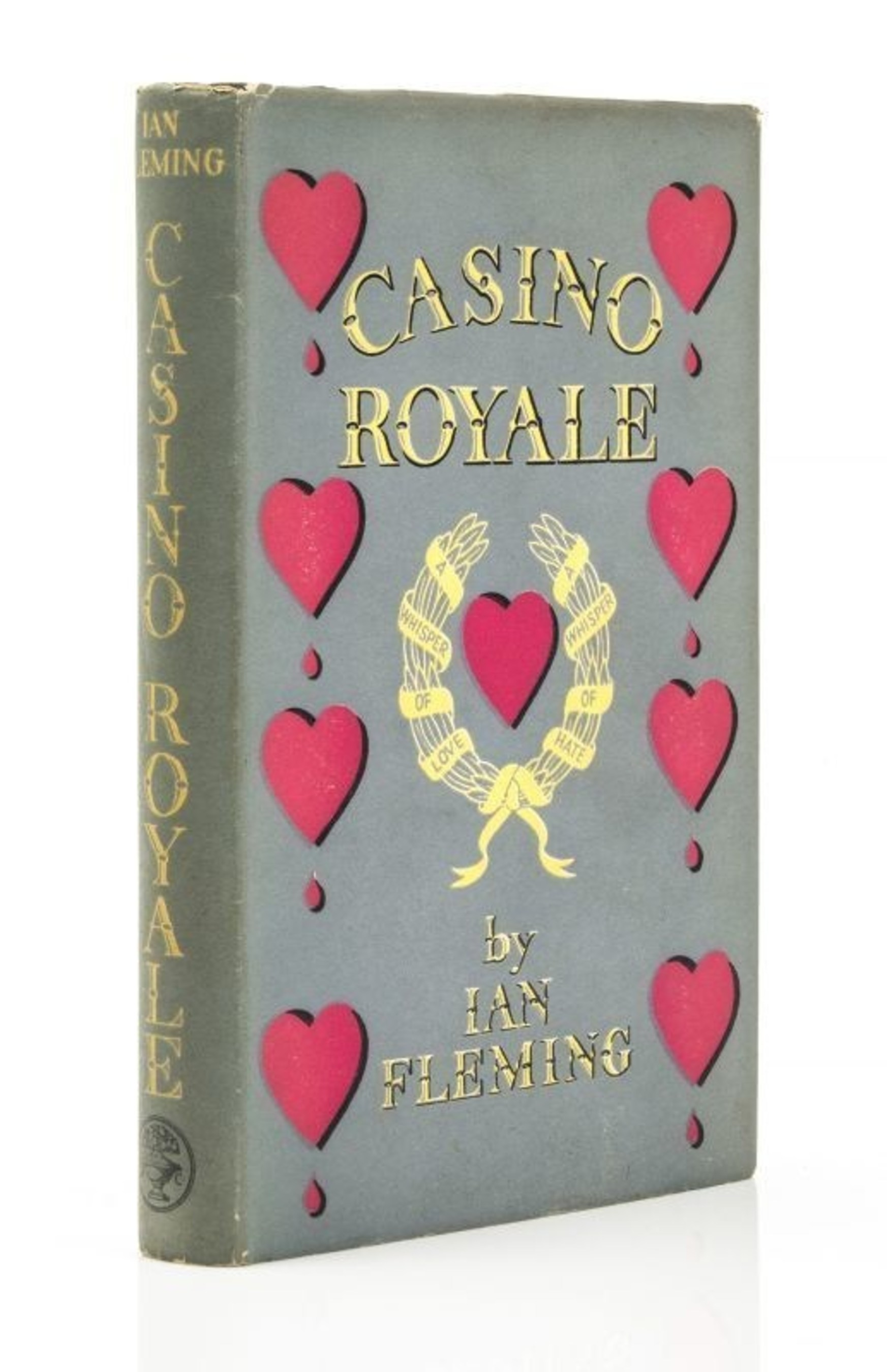 For sale Casion Royale first edition by Ian Fleming (PRNewsFoto/The-saleroom.com) (PRNewsFoto/The-saleroom.com)