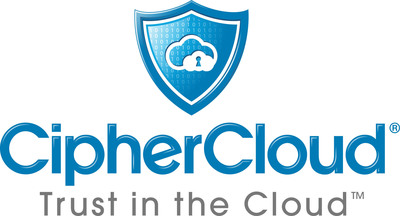 CipherCloud, the leader in cloud information protection, enables organizations to securely adopt cloud applications by overcoming data privacy, residency, security, and regulatory compliance risks. CipherCloud's open platform provides comprehensive security controls including encryption, tokenization, cloud data loss prevention, cloud malware detection, and activity monitoring. The CipherCloud product portfolio protects popular cloud applications out-of-the-box such as Salesforce, Force.com, Chatter, Box, Google Gmail, Microsoft Office 365, and Amazon Web Services. CipherCloud's ground breaking technology protects sensitive information in real time, before it is sent to the cloud, while preserving application usability and functionality for its more than 1.2 million business users.  (PRNewsFoto/CipherCloud)