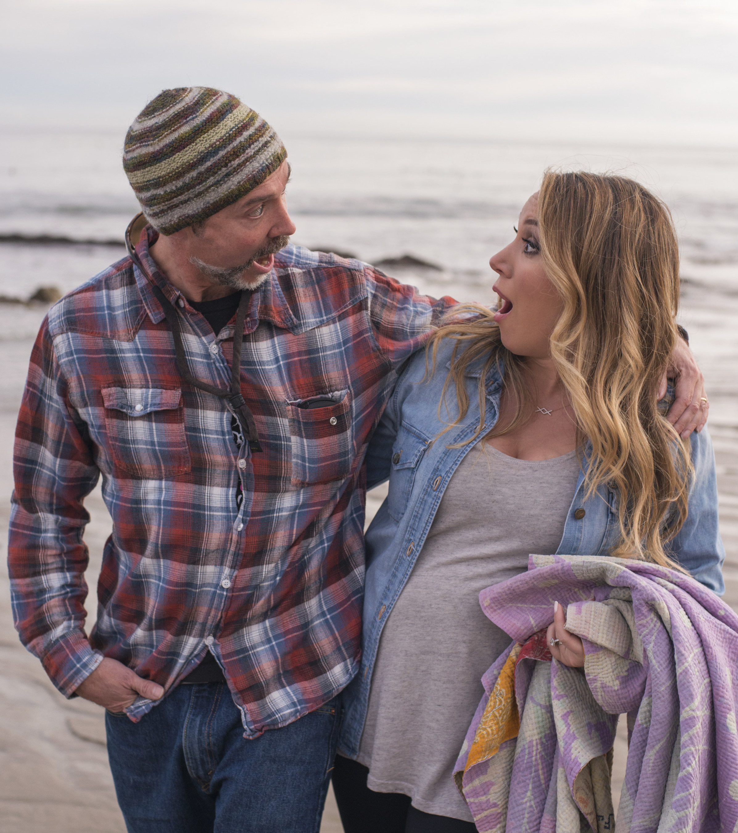 Tim McOsker and Haylie Duff.