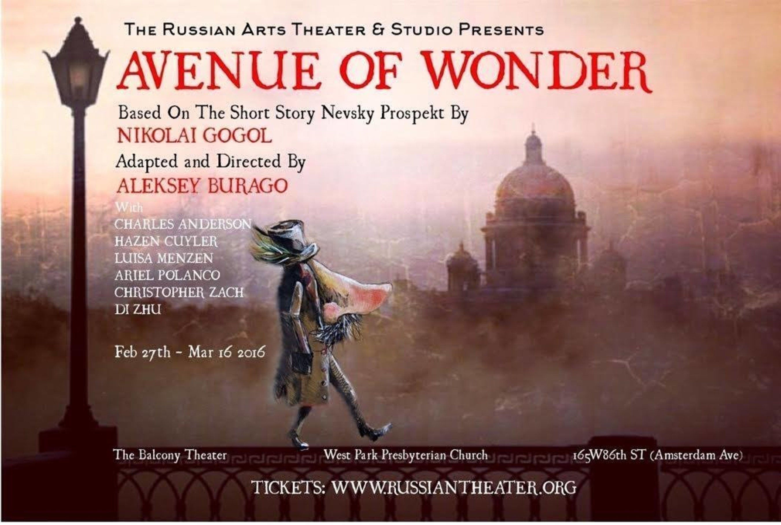 Renowned Russian Director to Stage Avenue of Wonder