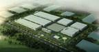 Dalian-based CBAK Industrial Base under construction (PRNewsFoto/China BAK Battery, Inc.)