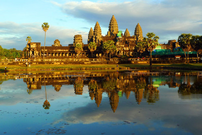 A guided visit to Angkor Wat is among the highlights of Crystal's inclusive three-night Cambodia/Bangkok Extended Land Program in March.  (PRNewsFoto/Crystal Cruises)