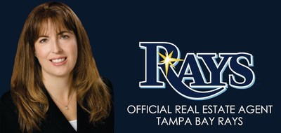 Jennifer Zales, Official Real Estate Agent of the Tampa Bay Rays