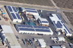 Hughson Nut's 586 kW Solar system developed by Cenergy Power.  (PRNewsFoto/Cenergy Power)