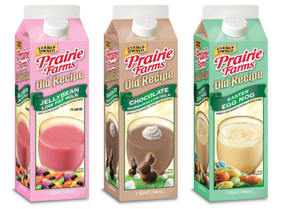 Prairie Farms Old Recipe Seasonal Favorites.  (PRNewsFoto/Prairie Farms Dairy)