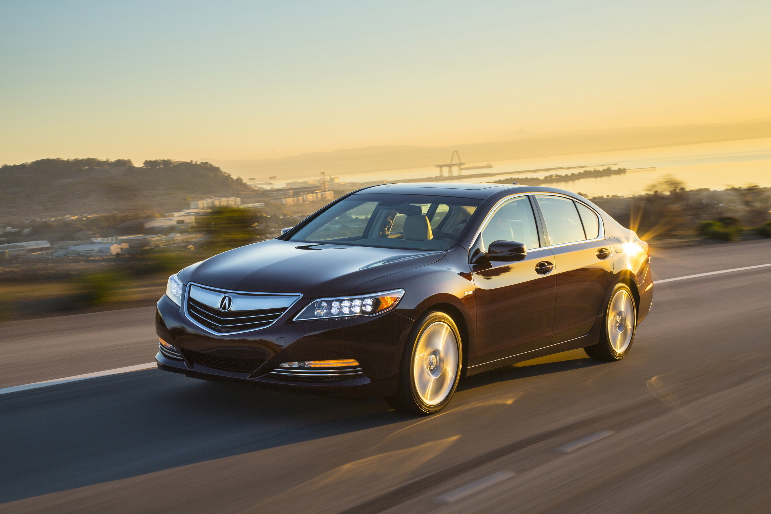 The 2017 Acura RLX Sport Hybrid arrives in Acura dealer showrooms tomorrow, December 1, 2016.