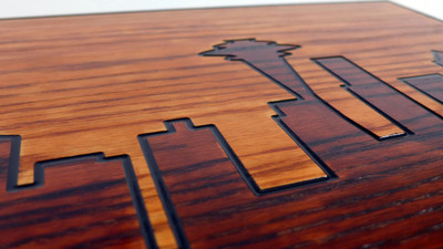 Intulon App Developer Trades Code for Custom Side Tables.  (PRNewsFoto/Intulon Art Deco)