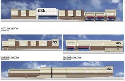 Rendering of Nordstrom Rack at Woodmore Towne Centre
