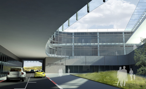 New Porsche U.S. Headquarters Design Mirrors the Bold Energy, Performance and Passion of the