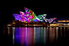 Sydney Opera House comes alive at Vivid Sydney 2014 (PRNewsFoto/Destination NSW)