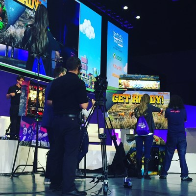 Raw Thrills, Inc. Takeover of TwitchCon 2016!
