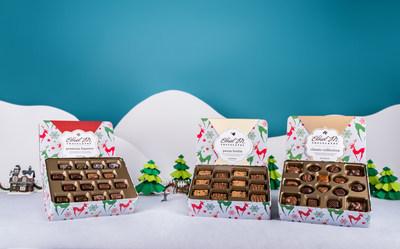Ethel M Chocolates Holiday Reindeer Tins