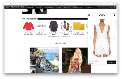 """Bringhub Partners with The Zoe Report to Usher in a New Era of """"In-Content"""" Shopping"""
