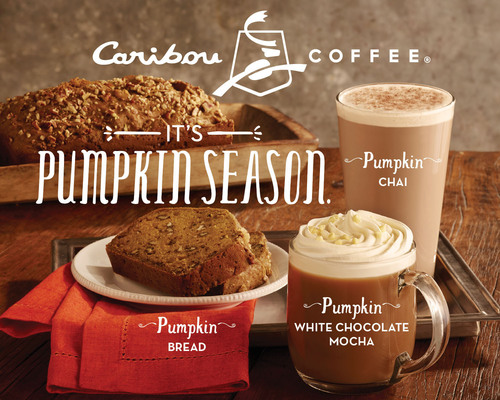 Caribou Coffee announced that it will once again offer its fans four delicious pumpkin menu items for a ...