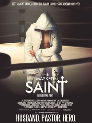 Ridgerock Entertainment Group and P23 Entertainment Inc. announce the January 8, 2016 theatrical release of THE MASKED SAINT through Freestyle Releasing.