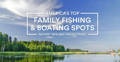 CAST YOUR VOTE FOR A CHANCE TO WIN A FISHING & BOATING EXPERIENCE OF A LIFETIME FROM TAKE ME FISHING(TM)