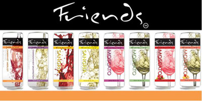 Friends Fun Wine In A Can.  (PRNewsFoto/Friends Beverage Group, LLC)