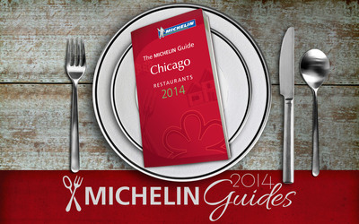 Michelin Releases Fourth Edition Of Its Famed Guide To Chicago's Great Restaurants.  (PRNewsFoto/Michelin)