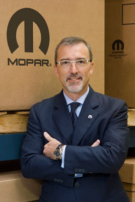 Pietro Gorlier, President and CEO of Mopar, takes brand global.  (PRNewsFoto/Chrysler Group LLC)