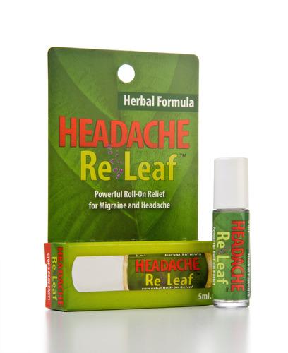 Headache ReLeaf. (PRNewsFoto/Premiere Enterprises) (PRNewsFoto/PREMIERE ENTERPRISES)