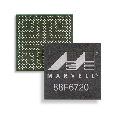 Marvell Launches ARMADA 375 Dual-Core 1.0 GHz Cortex A9-Based SoC for SMB, Infrastructure and Enterprise Applications.  (PRNewsFoto/Marvell)