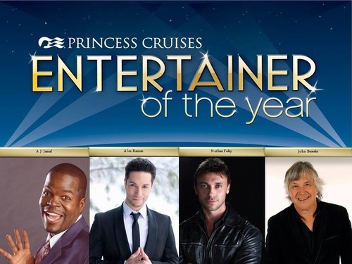 Princess Cruises Announces Finalists for Fifth Annual Entertainer of the Year Competition