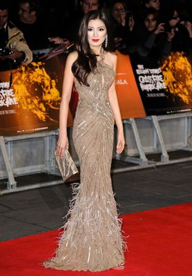 "Producer Rebecca Wang attends the premiere of ""Crossfire Hurricane"" during the 56th BFI London Film Festival at Odeon Leicester Square on October 18th, 2012. Photo by Invision."