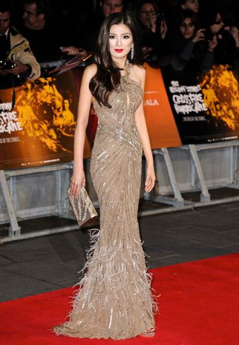 "Producer Rebecca Wang attends the premiere of ""Crossfire Hurricane"" during the 56th BFI London Film Festival at Odeon Leicester Square on October 18th, 2012. Photo by Invision. (PRNewsFoto/REBECCA WANG)"