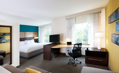 King Suite at the Residence Inn by Marriott Cleveland Independence