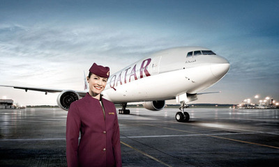 Qatar Airways Announces Expanded Codeshare Agreement with US Airways. Seamless International Connections from across the United States via Philadelphia beginning April 2014.  (PRNewsFoto/Qatar Airways)