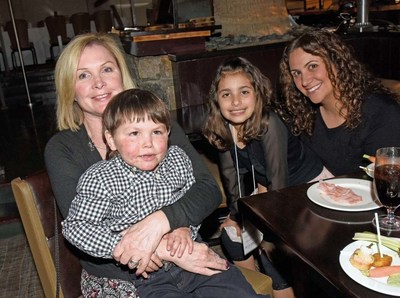 (Boy & Girl of the Year with Parents) Juls Barbeau of Sandy Hook, CT--mother of Ryan Costa, Savanna DiFatta, 2016 Girl of the Year of New Rochelle, NY, Jenn DiFatta of New Rochelle, NY--mother of Savanna DiFatta, Ryan Costa, 2016 Boy of the Year of Sandy Hook, CT.
