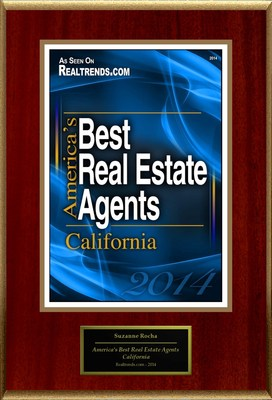"Suzanne Rocha Selected For ""America's Best Real Estate Agents: California"""